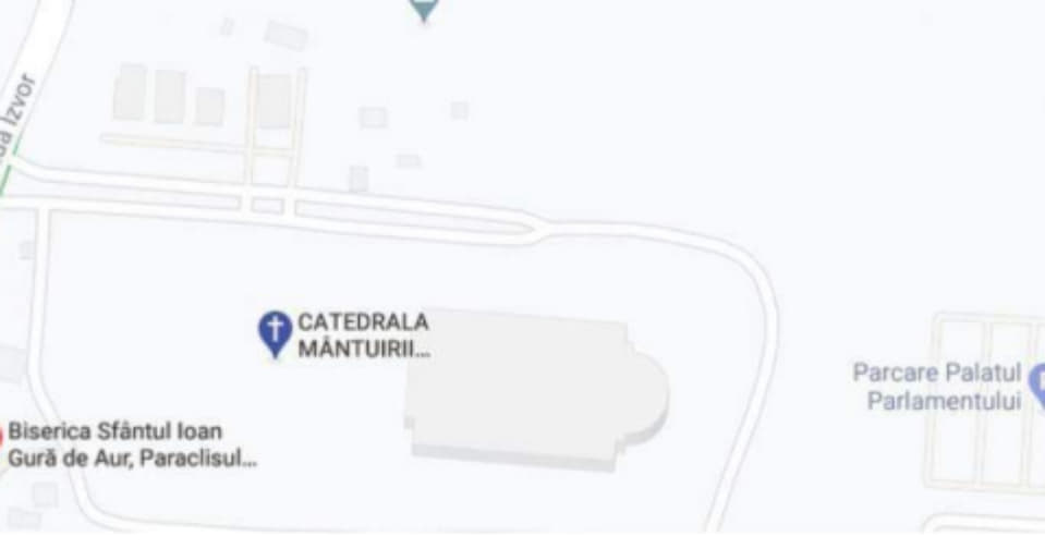 """CNCD a amendat Google pentru că a scris """"Catedrala Prostirii Neamului Românesc"""" în loc de """"Catedrala Făcută Pe Banii Românilor Fără Ca Aceştia Să Fi Fost De Acord Cu Asta"""""""