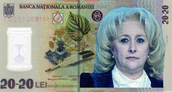 Chipul unei românce va apărea pe bancnota de 20-20 de lei!
