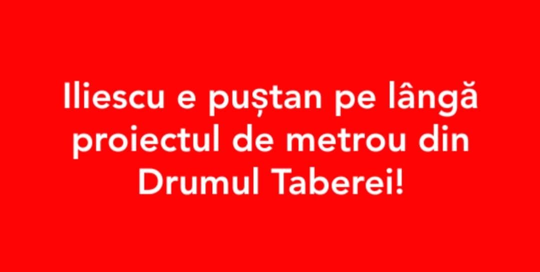 #metroul e bunicul lui iliescu