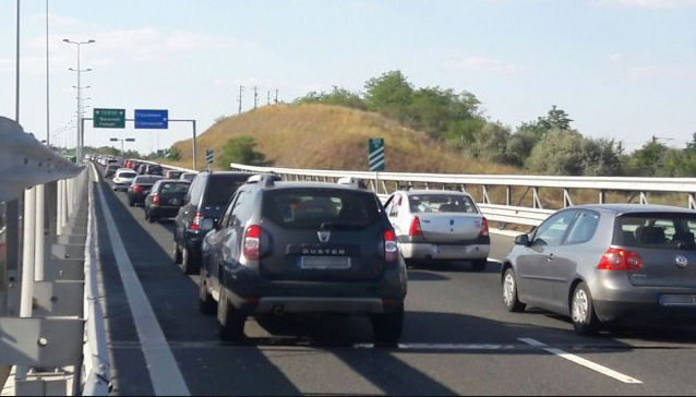 Poliția Rutieră recomandă turiștilor aflați pe litoral: Cine vrea să fie miercuri acasătrebuie să plece de acum!