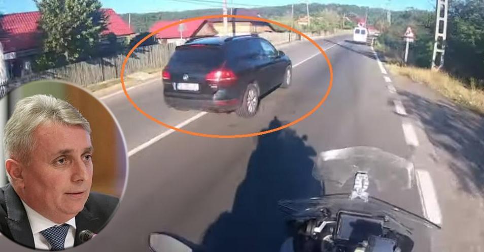Culmea jigodismului:să fii ministrul Transporturilor, să vezi fraierii cum stau în coloanăfiindcănu au autostradă, să încalci legea ca ultimul cocalar, să faci accidentşi după aia să te doara în cur de necesitatea unor autostrăzi