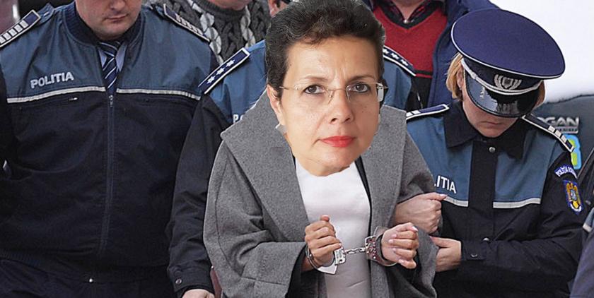 Adina Florea a ieșit cu cătușe de la audierea Codruței Kovesi!