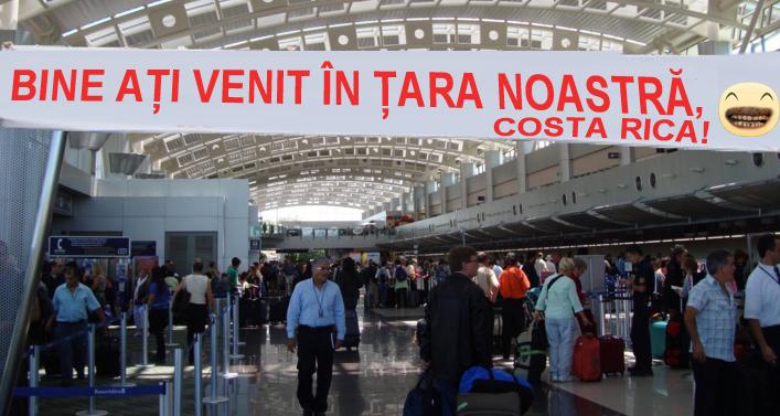 """Imediat după cooptarea lui Berbeceanu la Interne, pe aeroportul din Costa Rica s-a afișat un banner cu """"Bine ați venit în țara noastră!"""""""