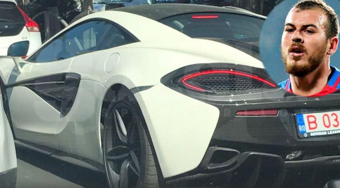 Alibec și-a luat McLaren de 170.000 de euro. Dacă îi dă voie cu el pe teren, poate îi ies și lui demarcările