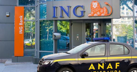 """ANAF a descins la ING: """"Ne-au furat tehnologia prin care luăm banii de două ori!"""""""