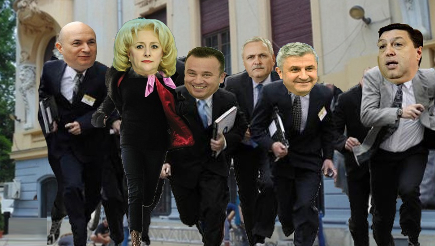 """Consiliul analfabeților PSD s-a spart după ce cineva a strigat la mișto """"Scoateți o foaie de hârtie!Dictare!"""""""