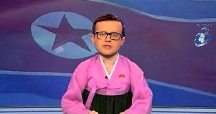 Alertă! Antena3 a devenit televiziune de stat și în Coreea de Nord!