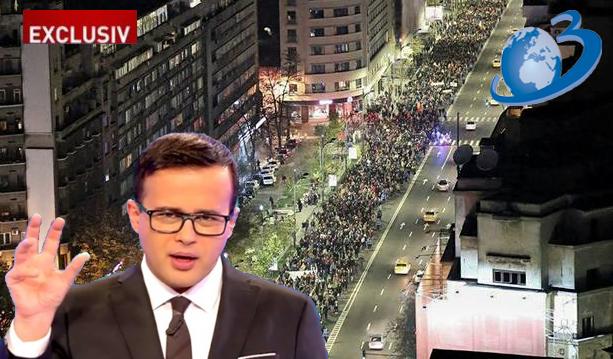 """Antena3: """"20.000 de bucureșteni au sărbătorit în stradă ziua lui Liviu Dragnea!"""""""