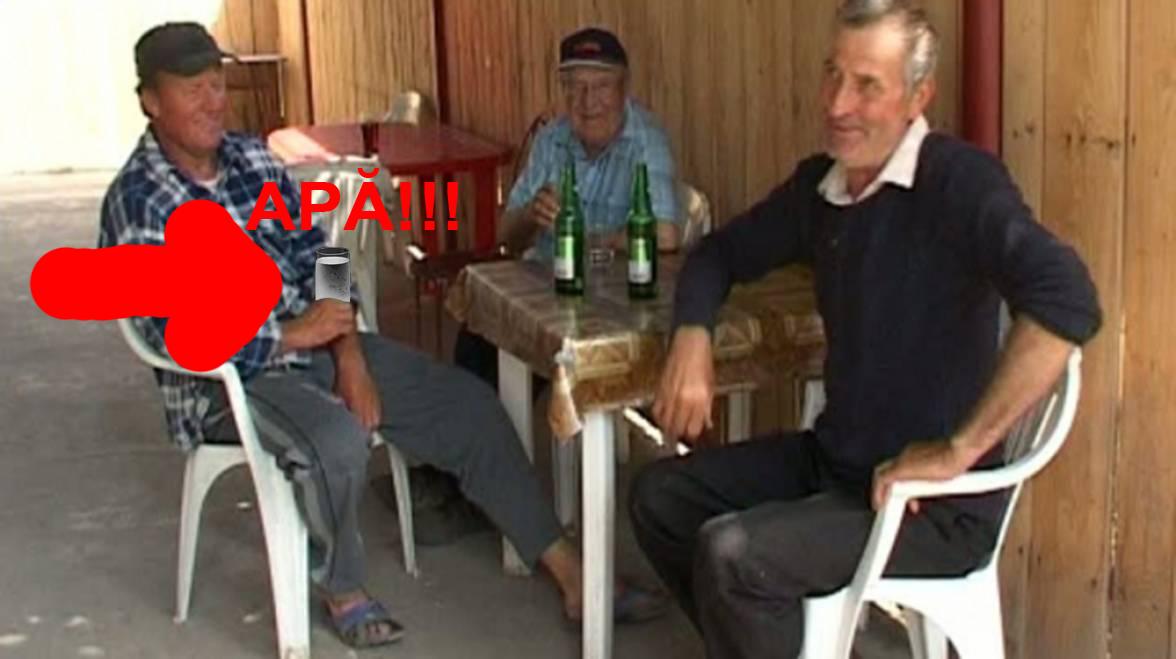 La o cârciumă din Vaslui, un client a fost depistat pozitiv după ce i s-a găsit apă în pahar!