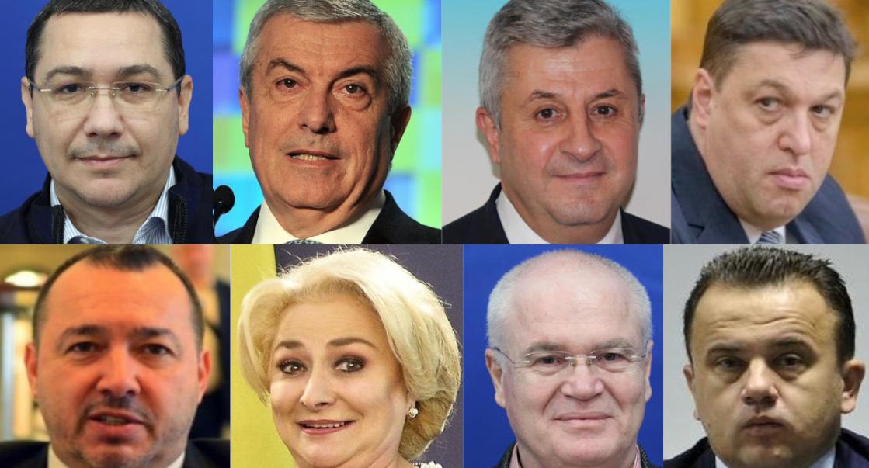 Următoarele chestii au dispărut complet din Parlamentul României:Victor Ponta,Călin Popescu Tăriceanu,Florin Ciordache,Șerban Nicolae,Cătălin Mitraliera Rădulescu,Vasilica Dăncilă,Eugen Nicolicea,Liviu Pop…