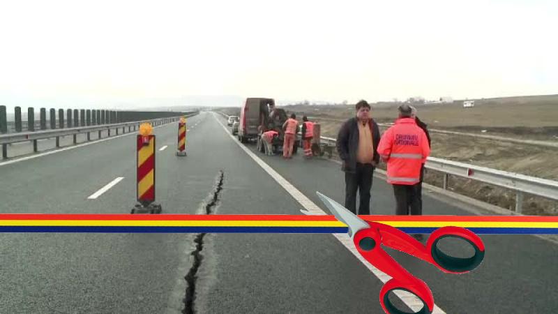 România - țara undelungimea panglicilor tăiate este dublă față de kilometrii de autostradă construiți!