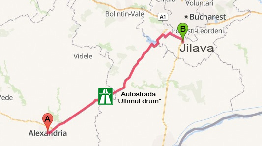 Susțin autostrada Teleorman-Jilava!