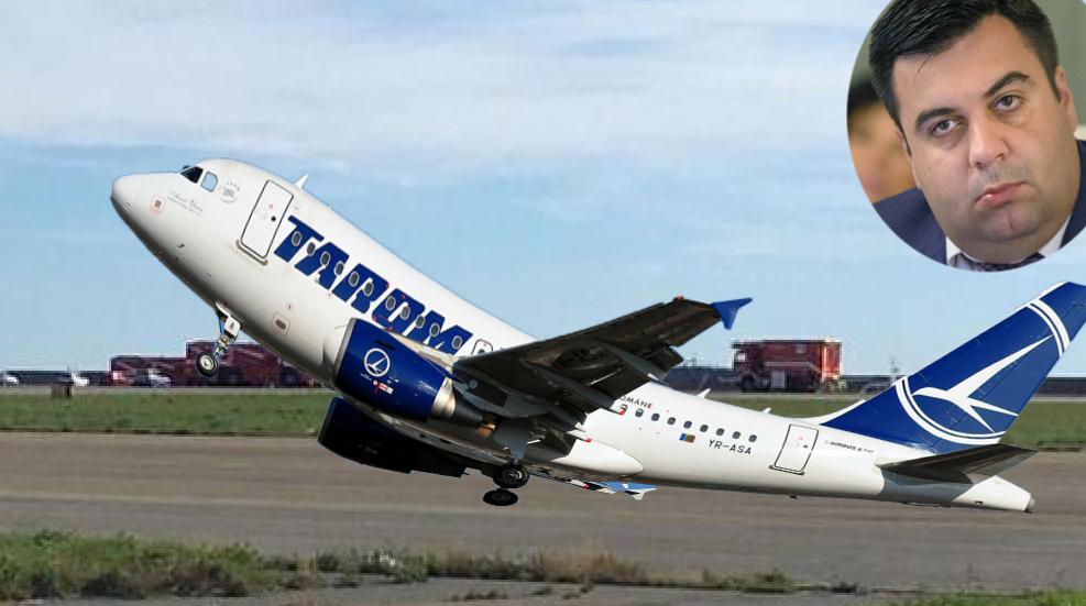 Iar scandal la Tarom: un avion care îl are pe ministrul Cuc la bord nu reuşeşte să se ridice de la sol!