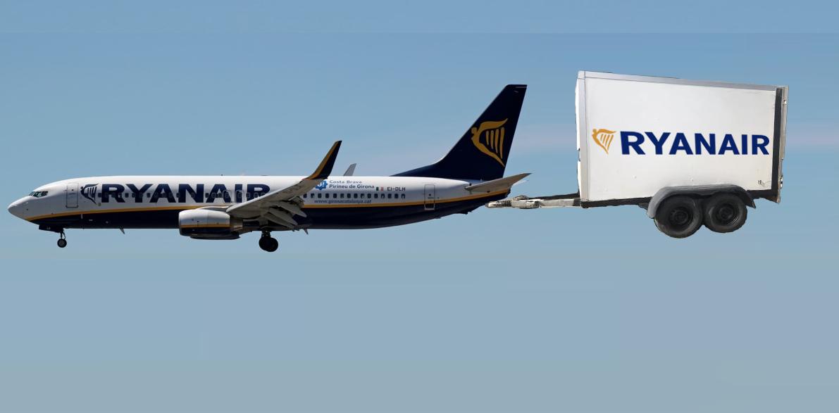 Companiile de transport aerian au introdusavioane cu remorcă pentru bagaje!