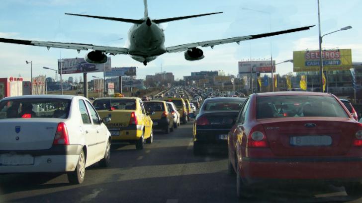 Tarom introduce o cursă între Otopeni şi Băneasa pentru cei care nu au 3 ore să stea în trafic!