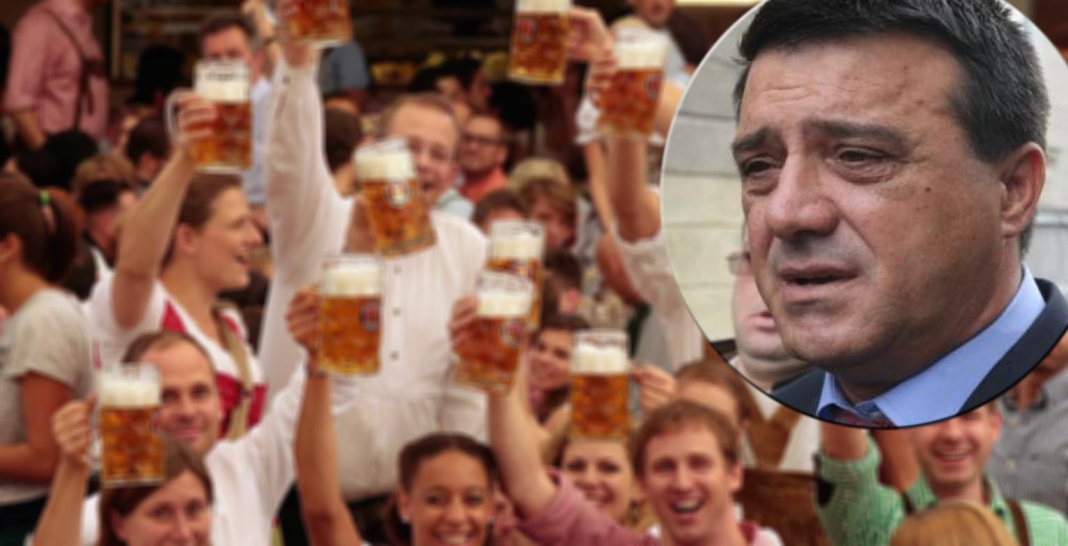 Bădălău, pregăteşte-ți umbrela! Cei 500.000 de români care vor vota mâine în diaspora s-au apucat deja să bea bere!
