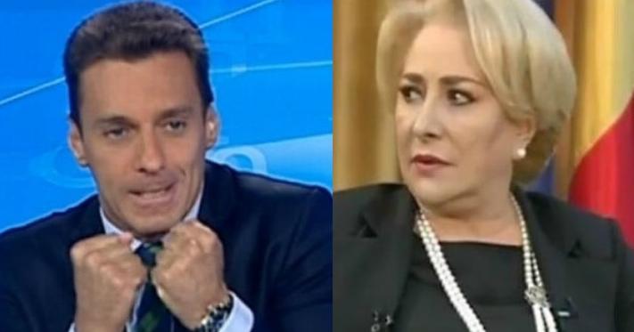 """Mircea Badea a făcut-o pe Veorica""""imbecila planetei"""". Fraiere, poate te bate și asta!"""