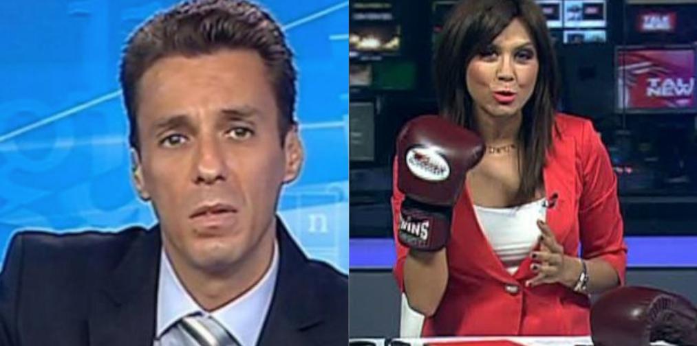 """Cine o să-l mai bată pe Mircea Badea. Azi: Denise Rifai, care l-a invitat pe fraier la o """"amiabilă"""" de 5 secunde pe 10 august"""