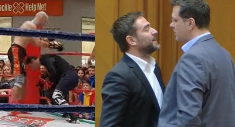 Pleșoianu și Mircea Badea vor face echipă pentru a lua bătaie și la dublu!
