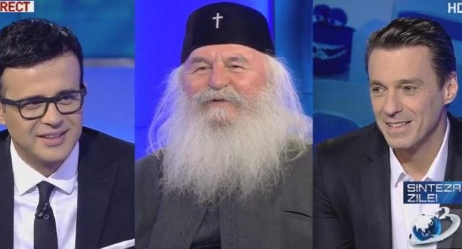 Mircea Badea, pupustnicul de la miezul nopții, va fi făcut sfânt: SfântulȘpagaterie Preabătutul