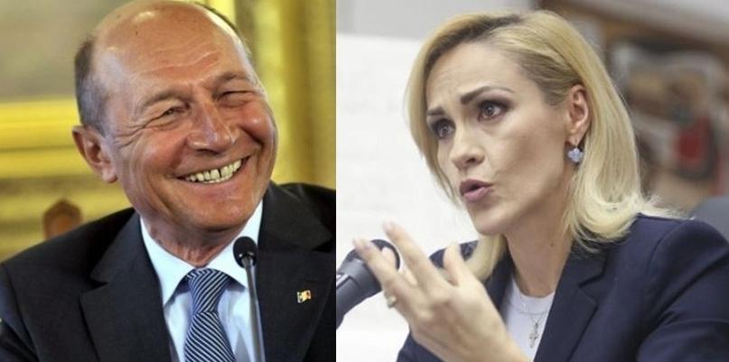 Băsescu: Firea m-a întrebat unde ar fi mai bine să plece pe 28: la Bacău sau în Costa Rica?