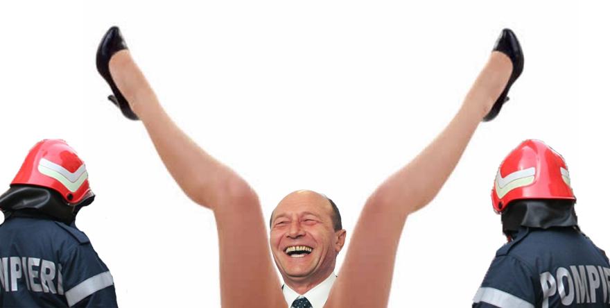 Alertă! Traian Băsescu a căzut în fântâna Elenei Udrea și nimeni nu îl mai poate scoate