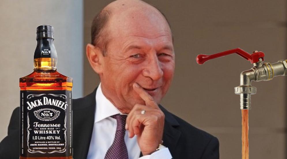 """Traian Băsescu s-a lansat în lupta pentru Primăria Capitalei: """"În loc de apă caldă, o să curgă whisky!"""""""