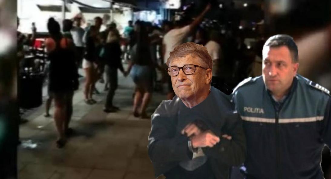 Bill Gates, reținut de poliție după ce a încercat să rupă o horă din Eforie Nord!