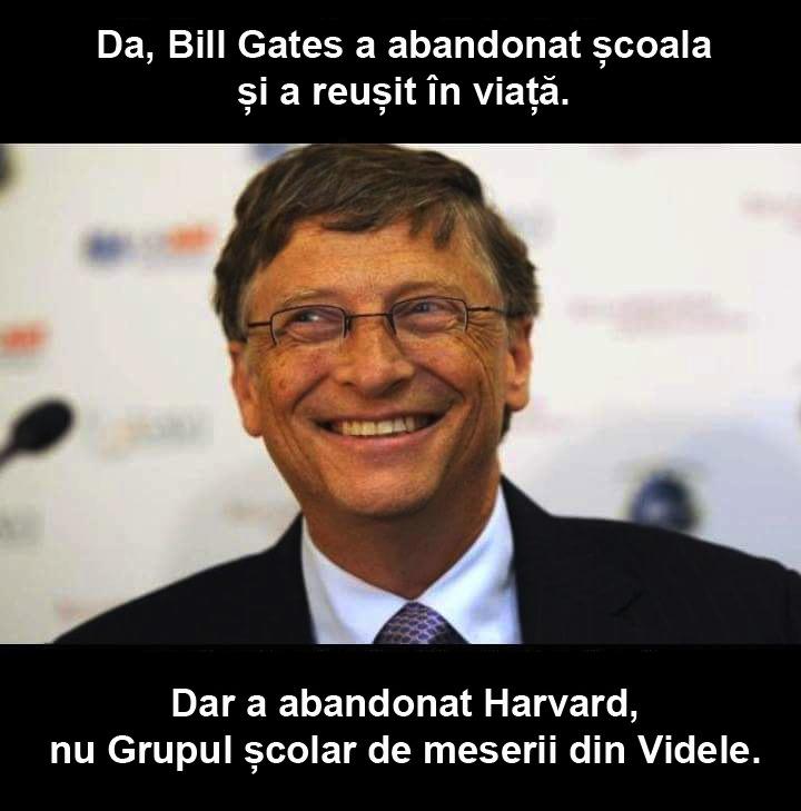 Orice om i-ar plăcea să fie ca Bill Gates!