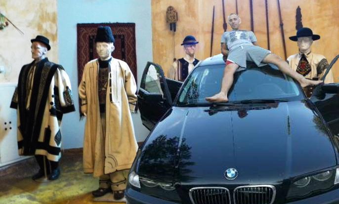 La Muzeul Țăranului din București va fi expus și un BMW!