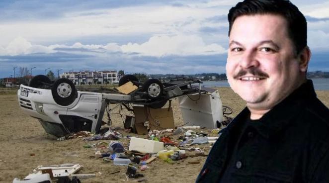 Furtuna din Grecia a făcut hernieîncercând să-l ia pe Bobonete. Dacă mai era și Micutzu acolo, intra furtuna în spital