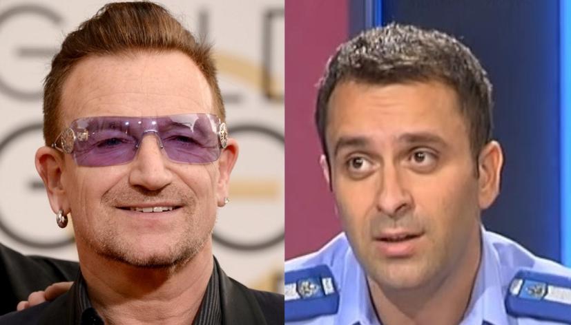 Noi îl avem pe Bono, ei îl au pe Laurențiu Cazan!