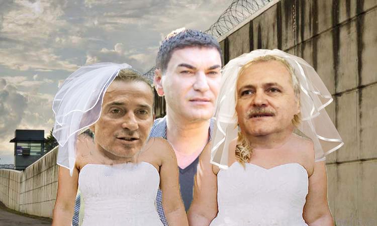 Nuntă la Rahova: Borcea le-a luat de soție pe Dragneași pe Mazăre!