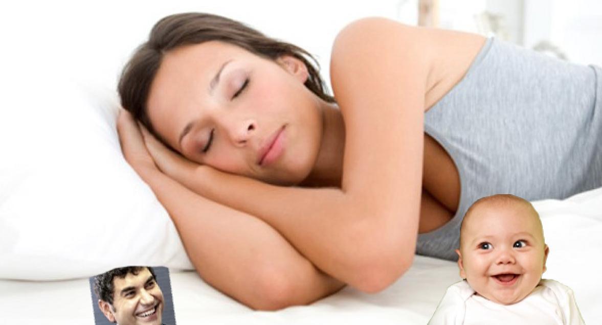 A dormit cu poza lui Borcea sub pernă şi s-a trezit direct cu un bebeluş în scutece!