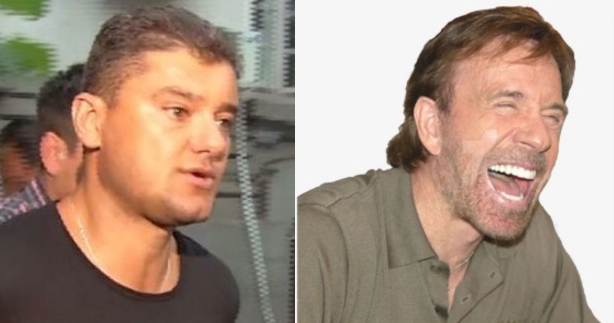 Boureanu s-a îmbătat și i-a dat mesaj lui Chuck Norris că-l bate!