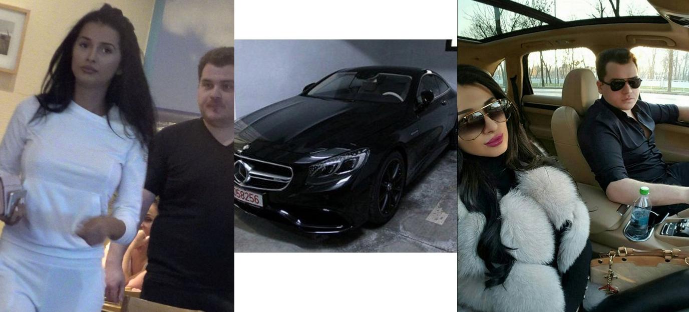 Fiul Rovanei Plumb și-a tras gagică de 240.000 de euro. Numai airbag-ul a costat cât 200 de pensii