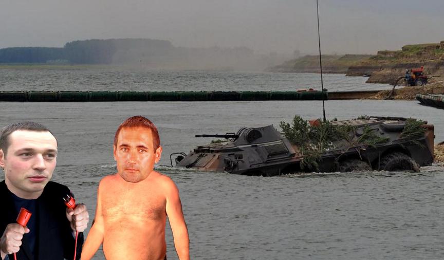 TAB-ul care s-a scufundat în Dunăre a fost prins de doi brăileni la curent!