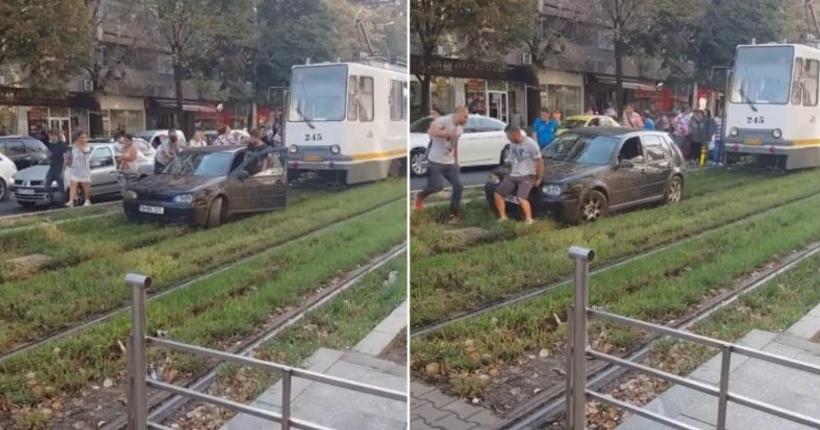 Tramvaiele care îi deranjează pe bucureștenii ieșiți cu mașina la iarbă verde vor fi amendate!