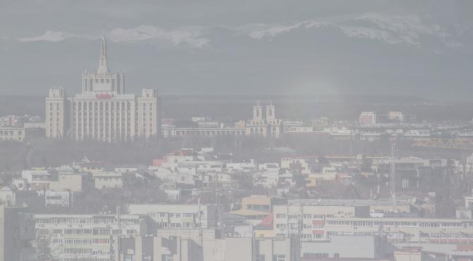 E o ceață în Bucureşti că nu se mai vede nici autostrada Piteşti-Sibiu inaugurată de Ponta în 2014!