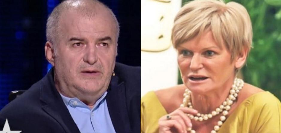 Florin Călinescu s-a iubit în tinerețe cu Monica Tatoiu!Dar au luat-o pe drumuri diferite: el spre PRO TV, ea spre orice televiziune care n-o dă afară din studio