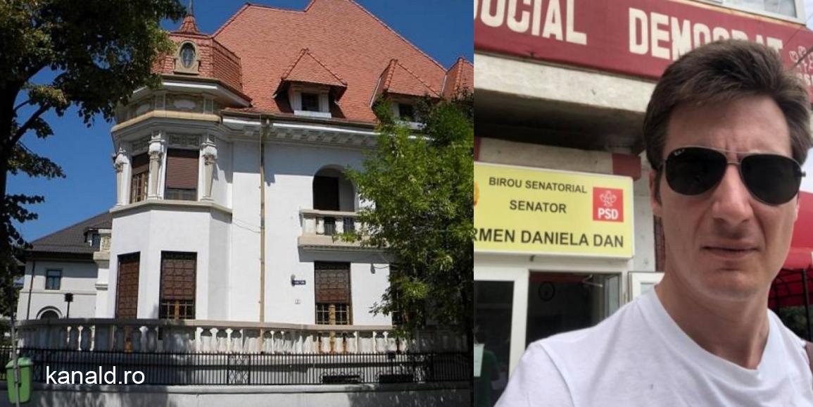 Andrei Caramitru și-a luat vilă de 3 milioane de euro în Dorobanți din banii lui. Să fure și Dragnea una, pentru echilibru