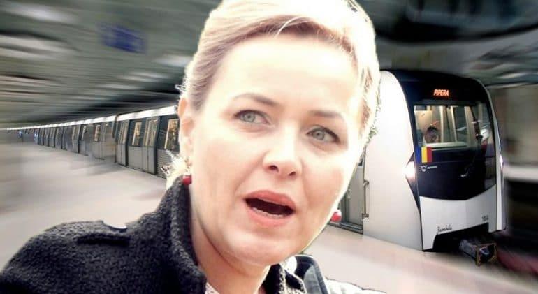"""Carmen Dan, șocată la prima ei călătorie cu metroul: """"Merge pe dedesupt!"""""""