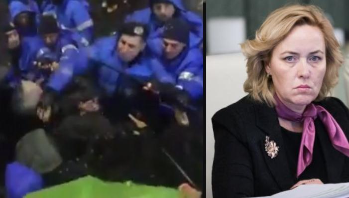 """Carmen Dan: """"Protestatarii au perturbat buna funcționare a corupției. Amendă și bătaie!"""""""