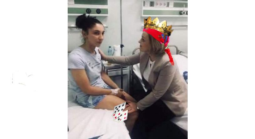 Duamna Carmen, regina magiei roșii, vindecă de cervicală și trimite diaspora înapoi la muncăgata gazată!
