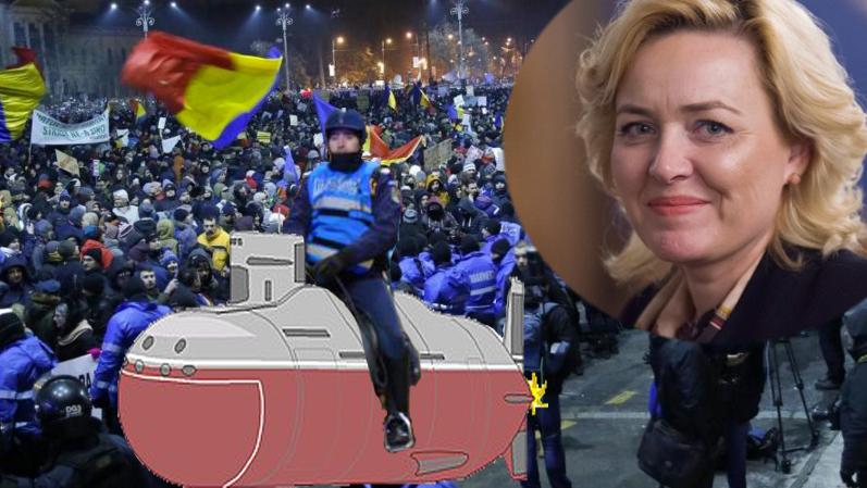 """Carmen Dan: """"Ministerul de Interne se va dota cu suptmarin!"""""""