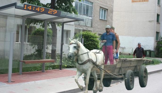 Smart City: Stațiile de autobuz din Caracal vor afișa în câte minute vine următoarea căruță!
