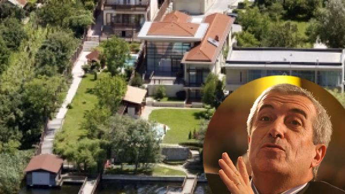 Viloiul lui Tăriceanu de la Snagov. Iohannis, te oftici? Toate casele tale încap în cotețul câinelui!