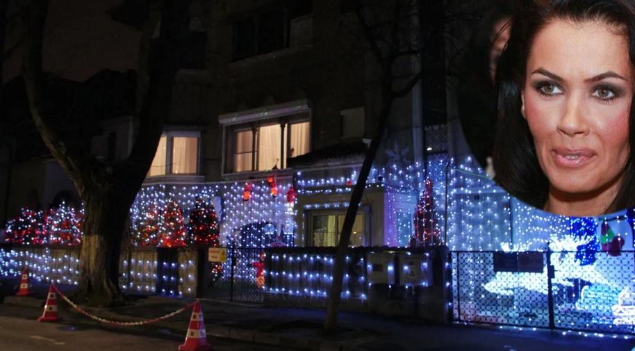 Casa Oanei Zăvoranu de Crăciun. Din cer, se vede mai bine decât Aeroportul Otopeni!
