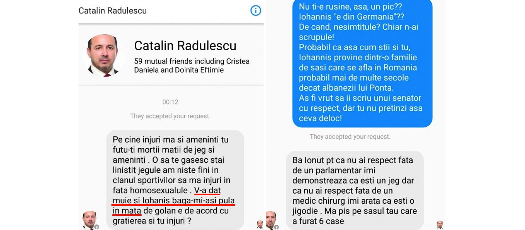 Cătălin Rădulescu, parlamentar și agramat: azi vă înjură, mâine poate vă și mitraliază!