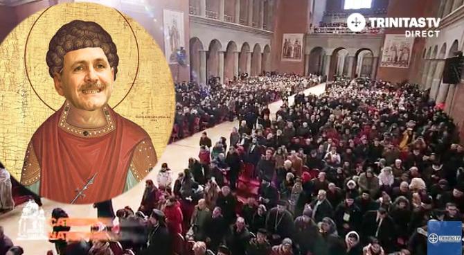 La Catedrală va fi expusă racla cu ciorapii flaușați ai Sfântului Teldrumie, Ocrotitorul Hoților!